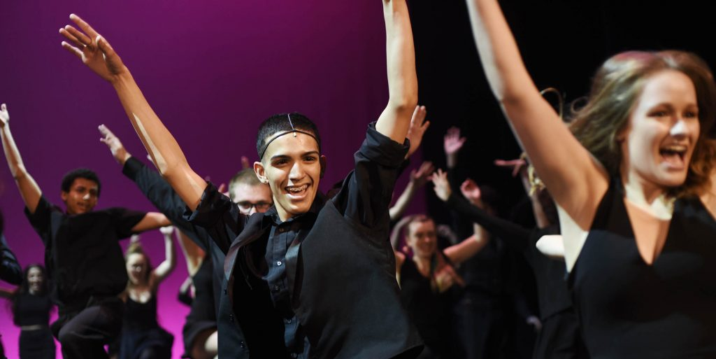 Students from 30 schools Capital Region schools rehearse for the 3rd Annual High School Musical Theatre Awards on the MainStage at Proctors Saturday, May 11, 2019.