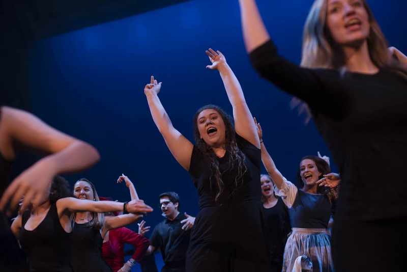 Students from across the Capital Region perform in the 2018 High School Musical Theatre Awards at Proctors Saturday, May 19, 2018.