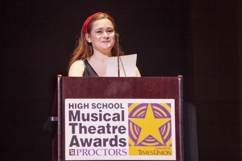Students from 30 schools Capital Region schools participate in the 3rd Annual High School Musical Theatre Awards on the MainStage at Proctors Saturday, May 11, 2019.